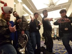 Friends of The Game Brass at MAGfest
