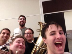 rehearsal at MAGfest 2018 The Game Brass