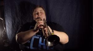 John Robert Matz BTS Djose Temple brass quintet video